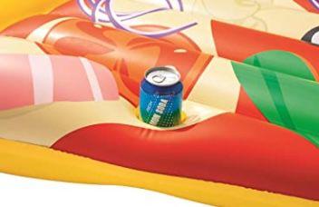 Bestway Luftmatratze Pizzastück 188 x 130 cm für 7,48€ (statt 12€)
