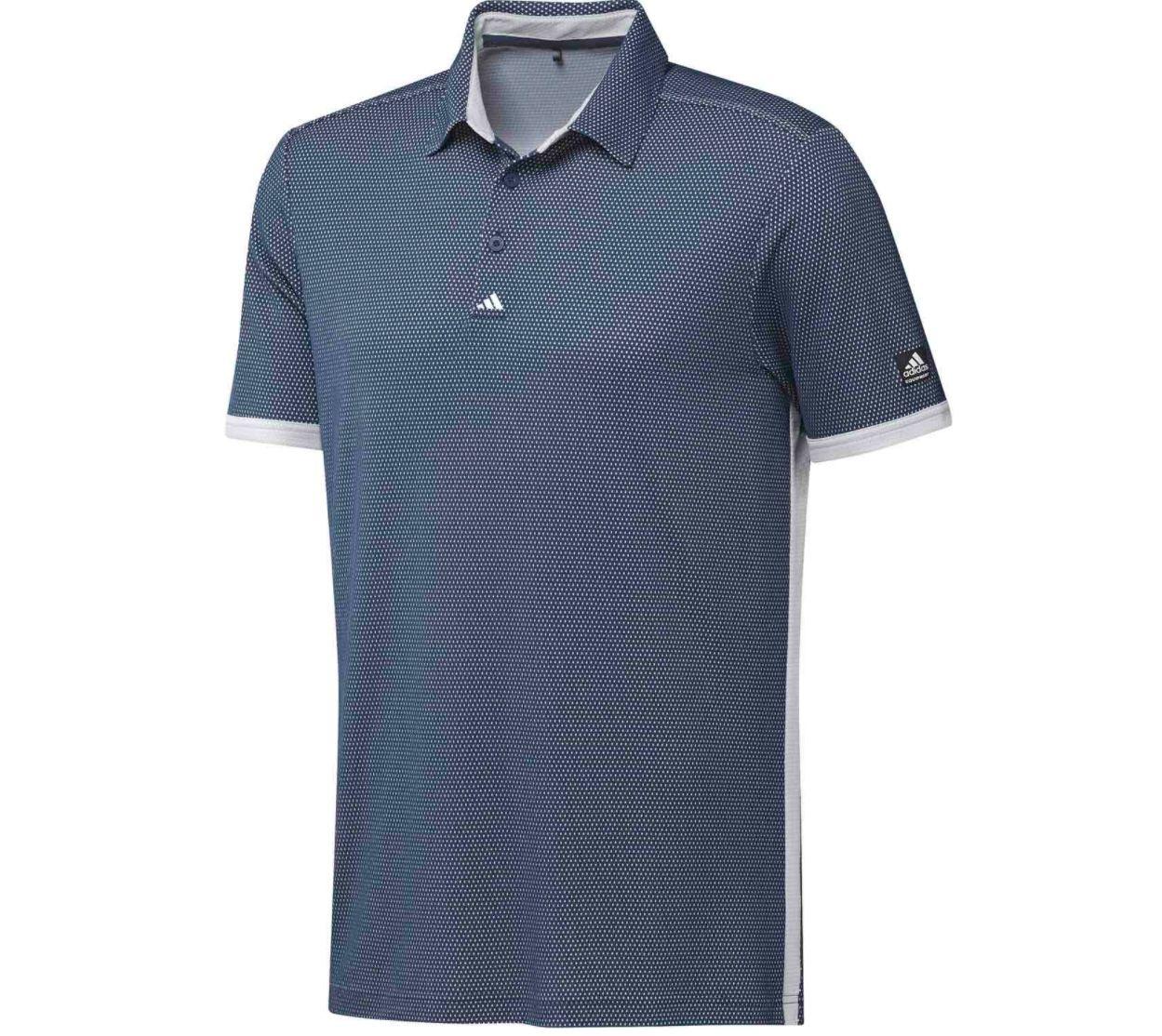 adidas Equipment Two Tone Mesh Poloshirt mit UV Schutzfaktor 50+ für 39,95€(statt 55€)