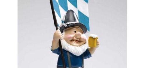 Deko Gartenzwerg 30 35cm z.B. als Deutschland Fan für 14,99€ (statt 20€)