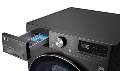 LG Waschmaschine F6WV710P2S A Frontlader (10.5 kg, 1600 U) für 539€ (statt 738€)