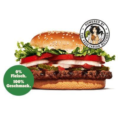Plant-based Whopper gratis bei Burger King bis zum 9. Juni über die App