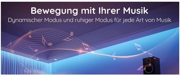 Govee Bluetooth LED Streifen RGB 10 Meter mit MusikSync inkl. App für 9,99€ (statt 18€)