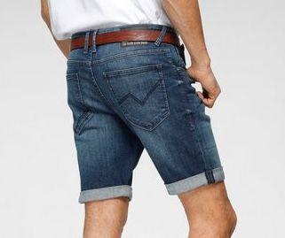 Tom Tailor Denim Jeansshorts mit leichten Abriebeffekten ab 29,99€ (statt 40€)