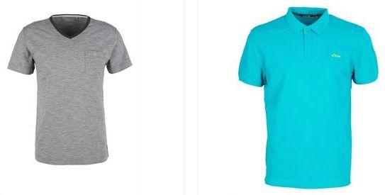 s.Oliver T Shirts in Restgrößen ab 7,20€ und Poloshirts ab 9€   keine VSK ab 30€