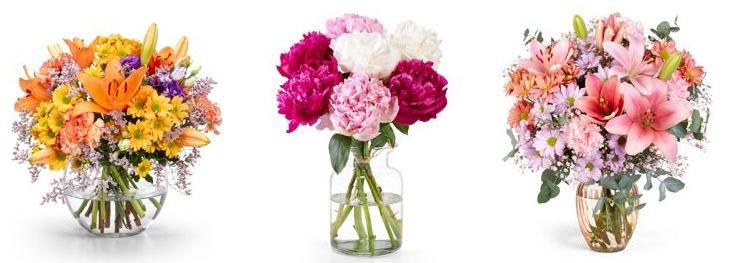 Valentins: 20% Rabatt auf alle Blumensträuße ohne Mindestbestellwert