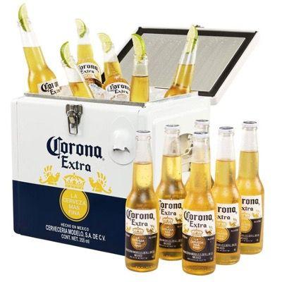 Corona Extra Coolbox mit 12 Flaschen Corona Extra für 39,99€ (statt 50€)