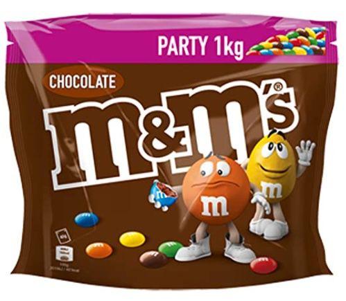 5kg m&ms Choco Party Pack Schokolinsen für 37,46€ (statt 45€)