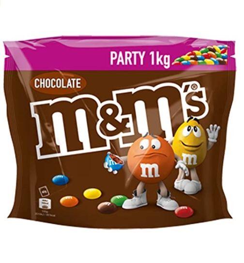 5kg m&m's Choco Party Pack Schokolinsen für 37,46€ (statt 45€)