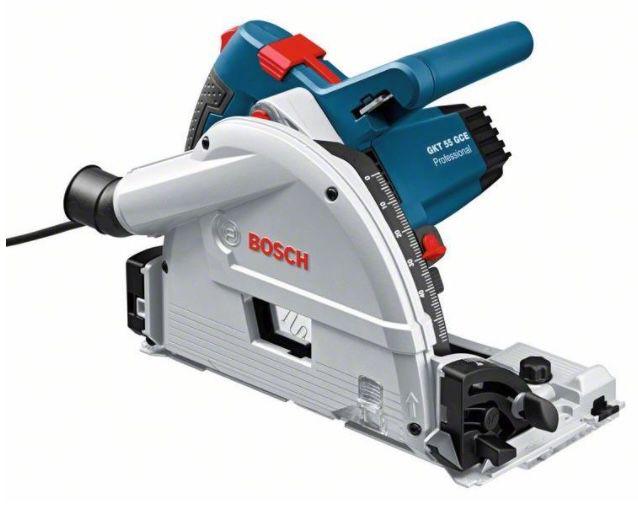 Bosch Tauchkreissäge GKT 55 GCE inkl. L Boxx + Führungsschiene für 399,95€(statt 449€)