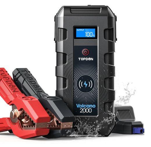 Topdon Kfz Starthilfe Powerbank mit 20800mAh für 83,99€ (statt 95€)