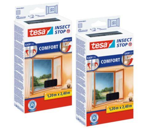 2er Pack tesa Fliegengitter Insektenschutz für bodentiefe Fenster für 24,95€ (statt 35€)