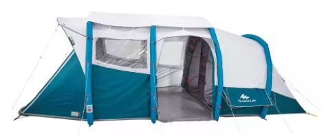 Decathlon Filialen: Quechua Air Seconds 6.3 Fresh&Black 6 Personen Zelt mit 3 Kabinen für 399,99€ (statt 589€)