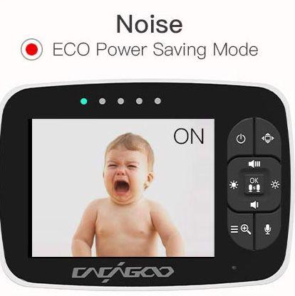 CACAGOO Babyphone mit Kamera & 3,5 Zoll Display für 59,49€ (statt 80€)