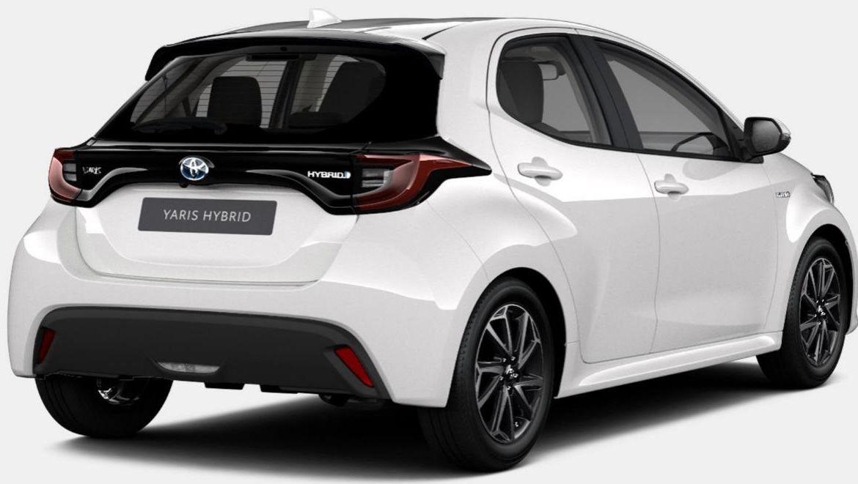 Privat: Toyota Yaris Hybrid als 5 Türer mit 116 PS für 129€mtl.   LF: 0.56