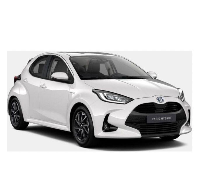Privat: Toyota Yaris Hybrid als 5-Türer mit 116 PS für 129€mtl. – LF: 0.56