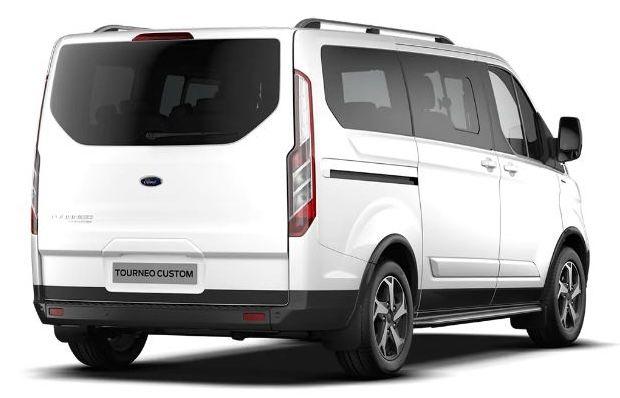 Privat: Ford Tourneo Custom mit Sitzheizung & Einparkhilfe für 249€ mtl.   LF: 0.45