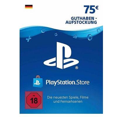 75€ PlayStation Network Guthaben für 58,19€