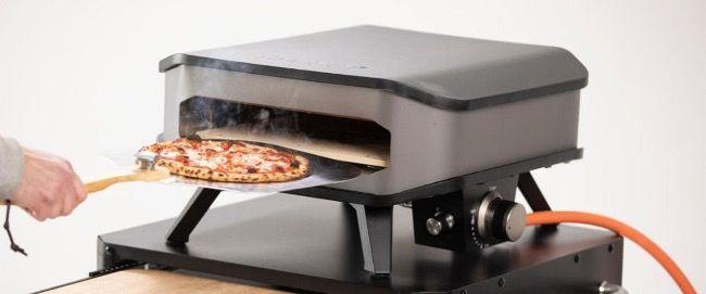 Cozze Gas Pizzaofen bis 400° Grad regelbar mit Pizzastein für 204,49€ (statt 249€)