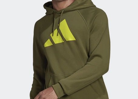 adidas Herren Sweatshirt Badge of Sport in Khaki für 31,43€ (statt 43€)