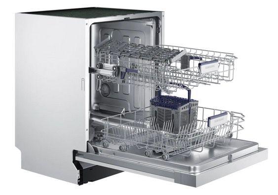 Samsung Einbau Geschirrspüler 60cm DW6KM6041SS/EG in Weiß Silber ab 359,99€ (statt 485€)