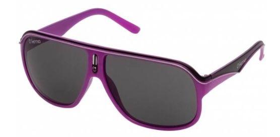 KMA Racer Shades UV400 Sport Sonnenbrille in Magenta Black für 6,17€