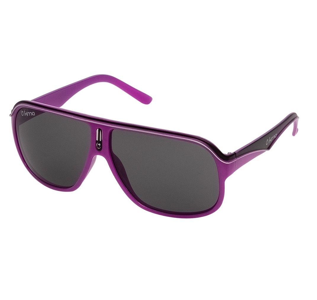 KMA Racer Shades UV400 Sport Sonnenbrille in Magenta-Black für 6,17€