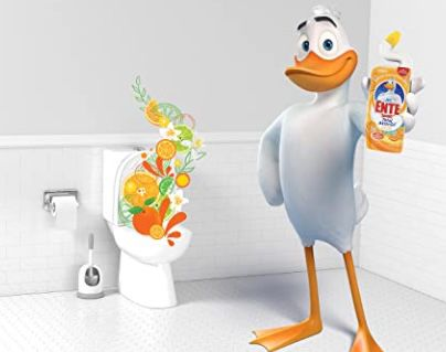 20er Pack WC Ente Total Aktiv Gel Flüssiger WC Reiniger Citrus Splash für 23,47€ (statt 33€)