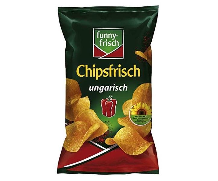 10 Tüten funny-frisch Chips Ungarisch (je 175g) für 7,88€ – Prime Sparabo