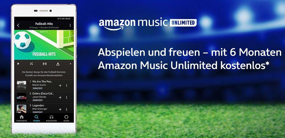 o2 Kunden: 6 Monate Amazon Music unlimited GRATIS