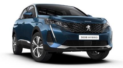 Privat: Peugeot 3008 Allure Hybrid mit 224 PS in Celebes Blau für 164€ mtl.   LF: 0,37