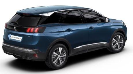 Privat: Peugeot 3008 Allure Hybrid mit 224 PS in Celebes Blau für 164,65€ mtl.   LF: 0.47