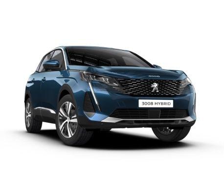 Privat: Peugeot 3008 Allure Hybrid mit 224 PS in Celebes-Blau für 169€ mtl. – LF: 0.38