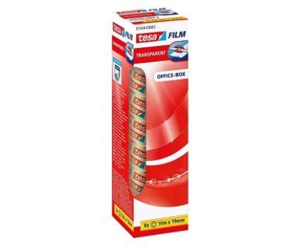 8er Pack tesafilm transparent Klebeband mit starker Haftung (je 10 m x 19 mm) ab 3€ – Prime