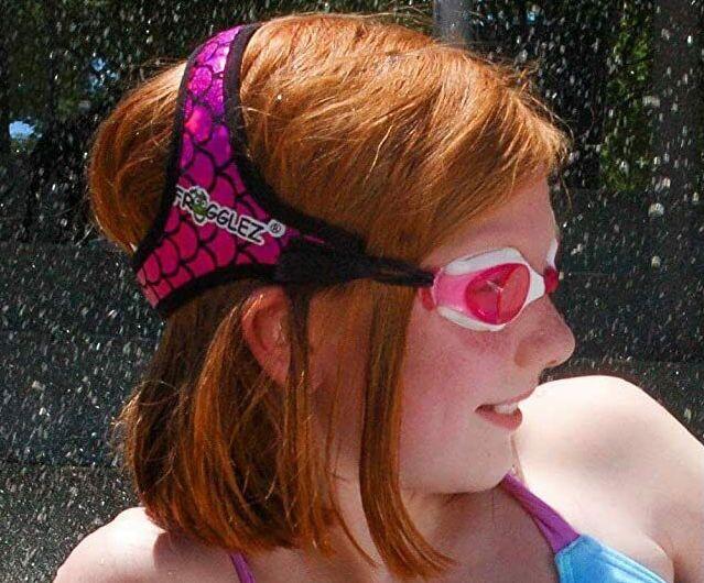 Frogglez Kinder Schwimmbrille mit Riemen für 6,90€ (statt 17€)
