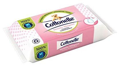 12er Pack Cottonelle feuchtes Toilettenpapier sensitive pflegend ab 9,99€   Prime