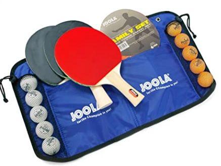 Joola Tischtennis Family Set mit 4 Schlägern + 10 Bällen für 15,99€ (statt 23€)   Prime