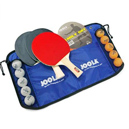 Joola Tischtennis Family-Set mit 4 Schlägern + 10 Bällen für 15,99€ (statt 23€) – Prime
