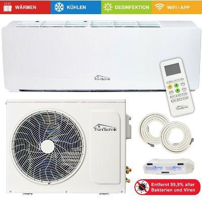 TroniTechnik Split Klimaanlage 9000 BTU 5in1 Smart mit 5m Schlauch für 299€ (statt 399€)
