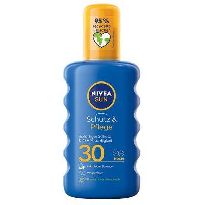 4x Nivea Sun Sonnencreme Spray 200ml mit Lichtschutzfaktor 30 für 23,09€ (statt 29€)