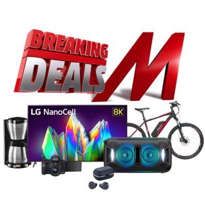 MediaMarkt Breaking Deals – z.B. LG NanoCell 75NANO999NA 75″ 8K TV für 2.689€ (statt 3.556€)