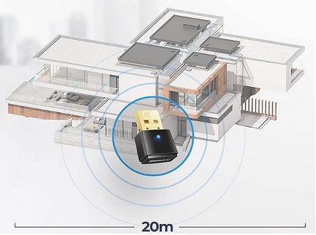 MWAudioNY Bluetooth 5.1 USB Adapter Plug and Play zum Senden und Empfangen für 7,99€ (statt 15€)