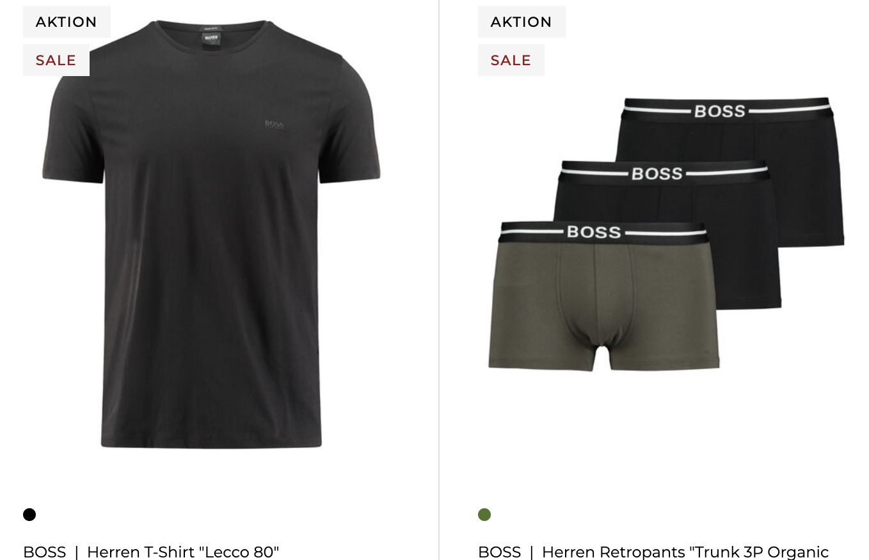 engelhorn Markentage Sale + 20% Extra Rabatt   Tommy Hilfiger, Hugo Boss und Co. günstig