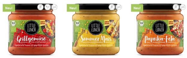 Little Lunch Saucen im Sale + 18% Extra Rabatt   z.B. Vegane Bolognese für 1,34€ (statt 1,99€)