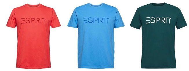 🔥 Knaller: 6x ESPRIT Herren T Shirts aus 100% Bio Baumwolle für 30€ (statt 90€)