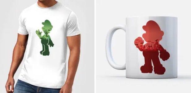 T Shirt und Tasse im Super Mario Bundle in 3 Motiven für 10,99€ (statt 30€)