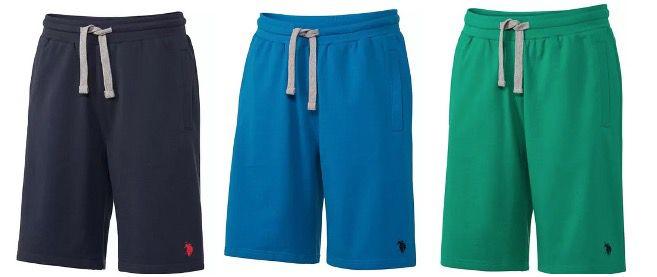 2x U.S. Polo Assn. Sweatbermuda verschiedene Farben für 22,50€ (statt 40€)