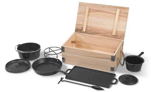 Grillmeister 7 teiliges Dutch Oven Set für 59,99€ (statt 80€)