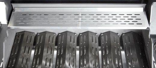 Gasgrill mit 6 Edelstahlbrennern je 2,8kW und Seitenbrenner ab 299,99€ (statt 400€)
