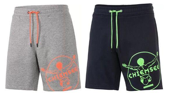 2x Chiemsee Herren Sweatshorts in Marine oder Grau für 30€ (statt 60€)