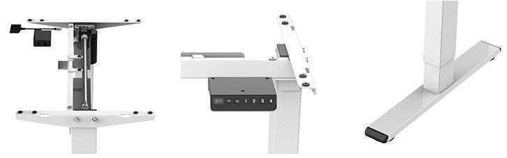 Flexispot E1S höhenverstellbarer Schreibtisch mit Memory Steuerung für 195,30€ (statt 280€)